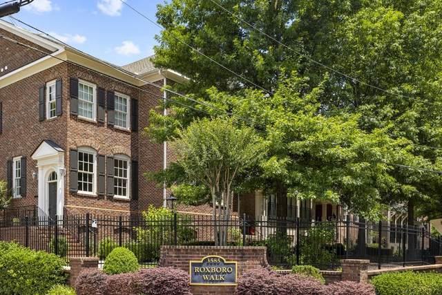 3585 Roxboro Road NE #6, Atlanta, GA 30326 (MLS #6896816) :: North Atlanta Home Team