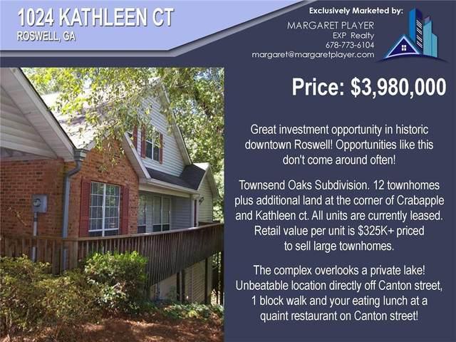 1024 Kathleen Court, Roswell, GA 30075 (MLS #6897615) :: North Atlanta Home Team