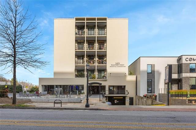 1421 Peachtree Street NE #401, Atlanta, GA 30309 (MLS #6898907) :: Path & Post Real Estate