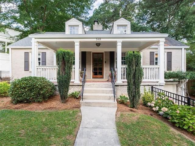 548 E Wesley Road NE, Atlanta, GA 30305 (MLS #6899310) :: Rock River Realty