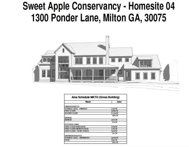1300 Ponder Lane, Milton, GA 30075 (MLS #6899553) :: North Atlanta Home Team
