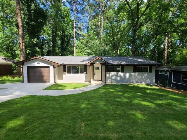 1484 Lively Ridge Road NE, Atlanta, GA 30329 (MLS #6899774) :: RE/MAX Prestige