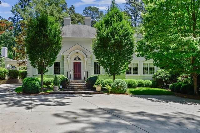 4187 Club Drive NE, Atlanta, GA 30319 (MLS #6900752) :: Kennesaw Life Real Estate