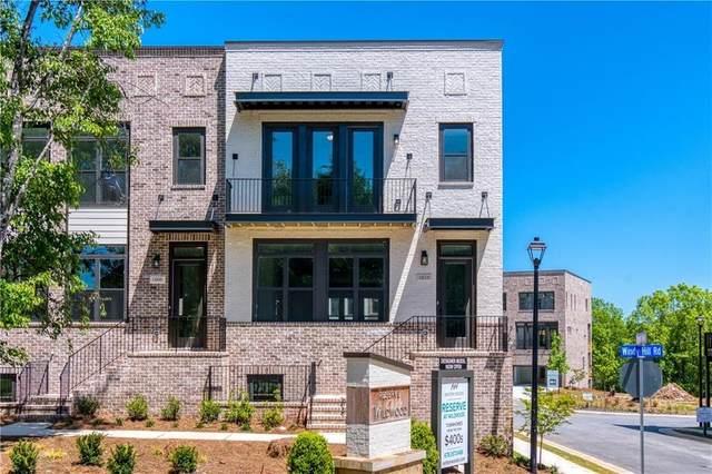 1538 Aldworth Place #25, Atlanta, GA 30339 (MLS #6903286) :: North Atlanta Home Team
