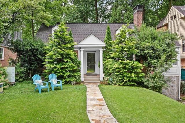 843 Kings Court NE, Atlanta, GA 30306 (MLS #6903352) :: Path & Post Real Estate
