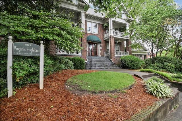 1071 N Highland Avenue NE #1, Atlanta, GA 30306 (MLS #6903676) :: Path & Post Real Estate