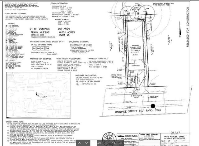 1452 Hardee Street NE, Atlanta, GA 30307 (MLS #6906109) :: Evolve Property Group