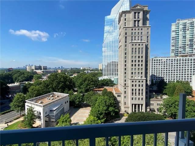 3324 Peachtree Road NE #1008, Atlanta, GA 30326 (MLS #6907599) :: The Kroupa Team | Berkshire Hathaway HomeServices Georgia Properties