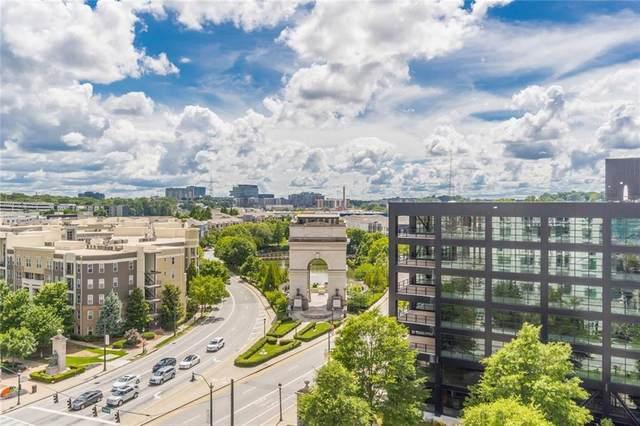 361 17th Street NW #822, Atlanta, GA 30363 (MLS #6910355) :: North Atlanta Home Team