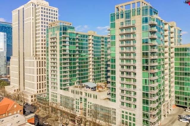 923 Peachtree Street NE #1026, Atlanta, GA 30309 (MLS #6910436) :: The Kroupa Team | Berkshire Hathaway HomeServices Georgia Properties