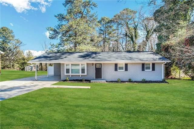 3691 Fred Walker Drive SW, Smyrna, GA 30082 (MLS #6912169) :: Kennesaw Life Real Estate
