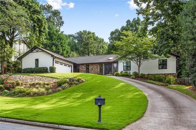 1464 Mile Post Drive, Dunwoody, GA 30338 (MLS #6912547) :: North Atlanta Home Team