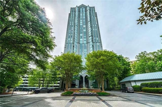 2870 Pharr Court South NW #307, Atlanta, GA 30305 (MLS #6913304) :: Atlanta Communities Real Estate Brokerage