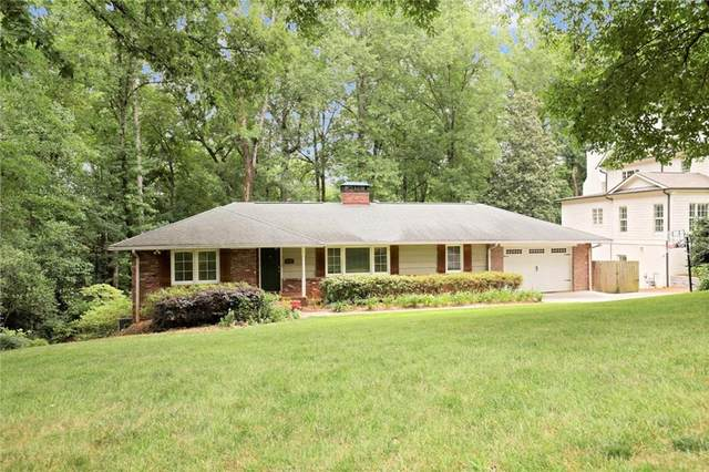 640 Valley Green Drive NE, Atlanta, GA 30342 (MLS #6914311) :: RE/MAX Paramount Properties
