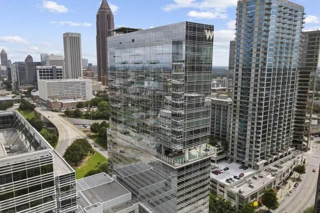 45 Ivan Allen Jr Boulevard NW #2605, Atlanta, GA 30308 (MLS #6914850) :: North Atlanta Home Team