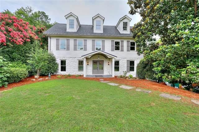 1079 W Nancy Creek Drive NE, Brookhaven, GA 30319 (MLS #6916999) :: North Atlanta Home Team