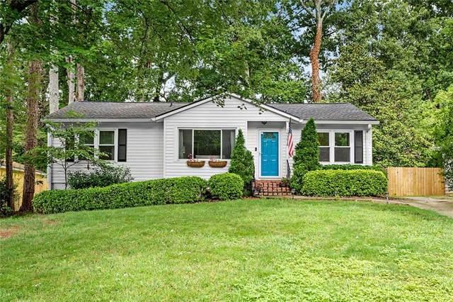 1690 Bristol Drive NE, Atlanta, GA 30329 (MLS #6917921) :: Charlie Ballard Real Estate
