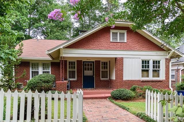 2414 Glenwood Drive NE, Atlanta, GA 30305 (MLS #6918396) :: RE/MAX Prestige