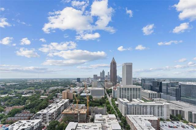 855 Peachtree Street NE #3205, Atlanta, GA 30308 (MLS #6918747) :: Good Living Real Estate