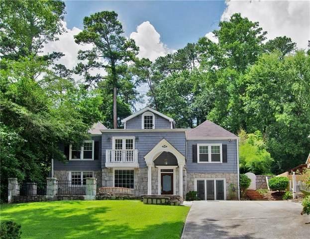 1690 Pine Ridge Drive NE, Atlanta, GA 30324 (MLS #6918887) :: North Atlanta Home Team