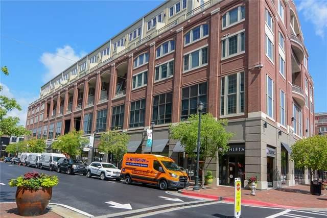 265 18th Street NW #2424, Atlanta, GA 30363 (MLS #6919628) :: The Atlanta Real Estate Group
