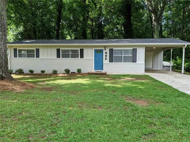 562 Oak Hills Road SW, Mableton, GA 30126 (MLS #6920135) :: Path & Post Real Estate