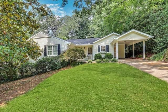 1033 Northcliffe Drive NW, Atlanta, GA 30318 (MLS #6920658) :: Dawn & Amy Real Estate Team