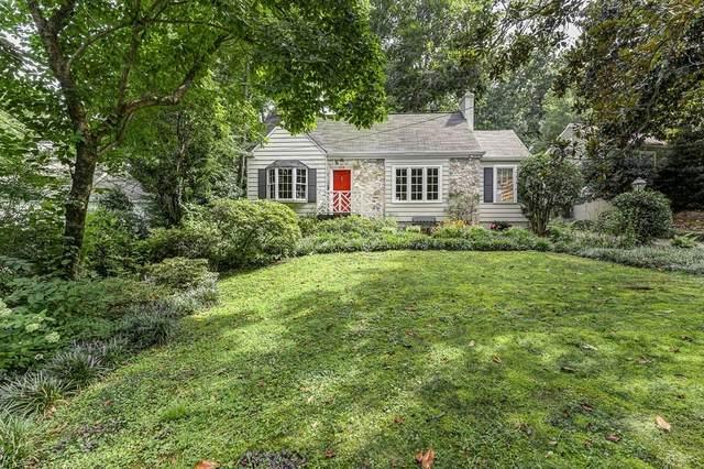 379 Redland Road NW, Atlanta, GA 30309 (MLS #6921249) :: The Kroupa Team | Berkshire Hathaway HomeServices Georgia Properties