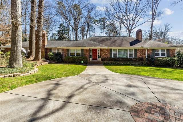 1296 Moores Mill Road NW, Atlanta, GA 30327 (MLS #6921269) :: The Hinsons - Mike Hinson & Harriet Hinson