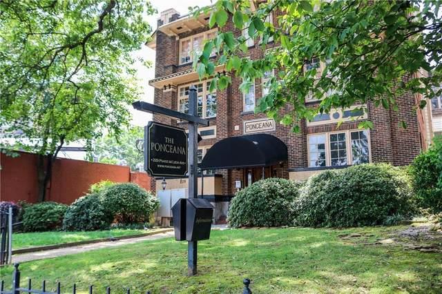 229 Ponce De Leon Avenue NE #15, Atlanta, GA 30308 (MLS #6922025) :: Dawn & Amy Real Estate Team