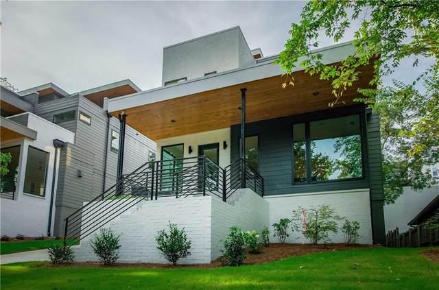 508 Boulevard Place NE A, Atlanta, GA 30308 (MLS #6922060) :: Tonda Booker Real Estate Sales