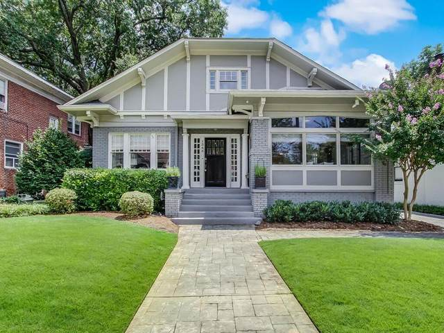 1345 N Highland Avenue NE, Atlanta, GA 30306 (MLS #6922300) :: Charlie Ballard Real Estate