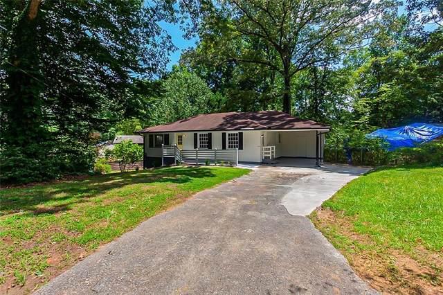 5075 Crowe Drive SE, Smyrna, GA 30082 (MLS #6922598) :: Atlanta Communities Real Estate Brokerage