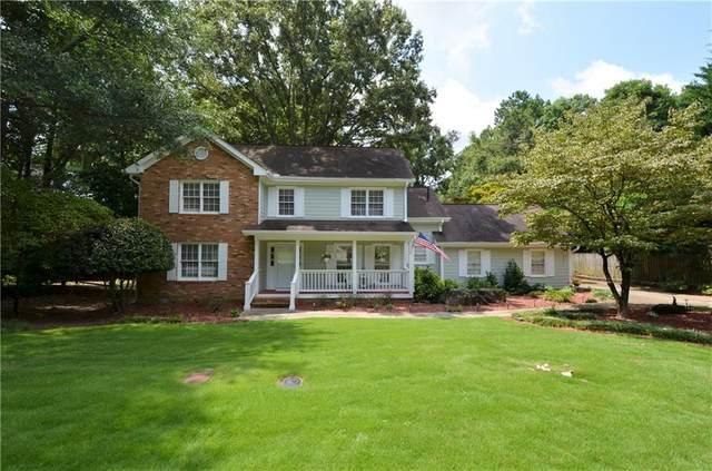 1021 Park Manor Terrace NW, Marietta, GA 30064 (MLS #6923655) :: Good Living Real Estate