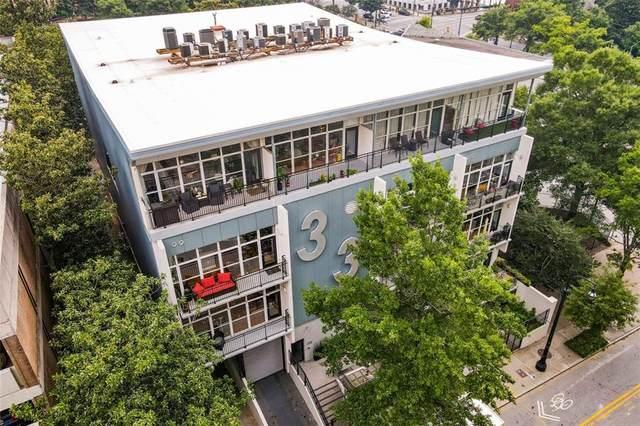 33 Ponce De Leon Avenue NE #201, Atlanta, GA 30308 (MLS #6923774) :: Keller Williams