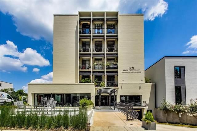 1421 Peachtree Street NE #310, Atlanta, GA 30309 (MLS #6925309) :: Atlanta Communities Real Estate Brokerage