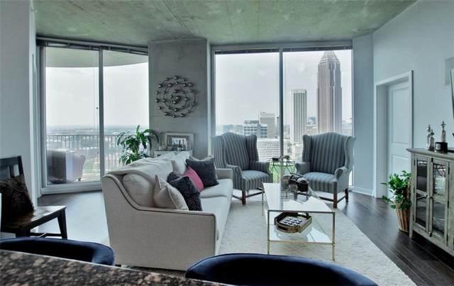 400 W Peachtree Street NW #2604, Atlanta, GA 30308 (MLS #6926656) :: Good Living Real Estate