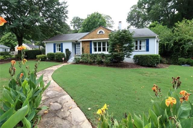 1554 Steele Drive NW, Atlanta, GA 30309 (MLS #6928392) :: North Atlanta Home Team