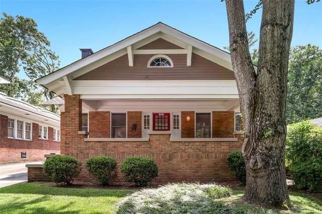 1021 North Avenue NE, Atlanta, GA 30306 (MLS #6930024) :: Atlanta Communities Real Estate Brokerage