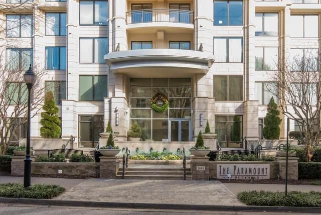 3445 Stratford Road #401, Atlanta, GA 30326 (MLS #6930978) :: Atlanta Communities Real Estate Brokerage