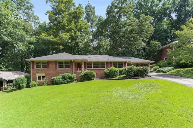 1356 Council Bluff Drive NE, Atlanta, GA 30345 (MLS #6932770) :: Good Living Real Estate