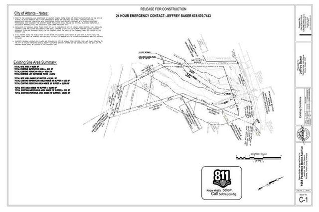 1064 Peachtree Battle Avenue NW, Atlanta, GA 30327 (MLS #6933209) :: North Atlanta Home Team