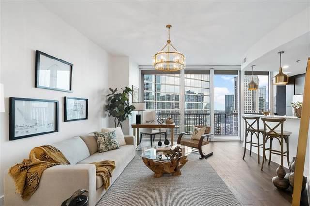 1080 Peachtree Street NE #1608, Atlanta, GA 30309 (MLS #6934909) :: Virtual Properties Realty