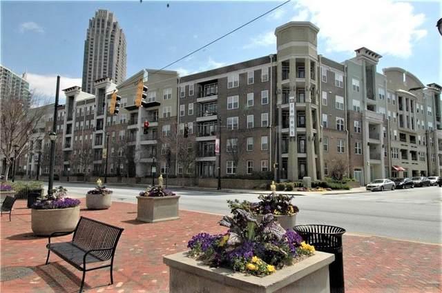 390 17th Street NW #4007, Atlanta, GA 30363 (MLS #6935188) :: Dawn & Amy Real Estate Team