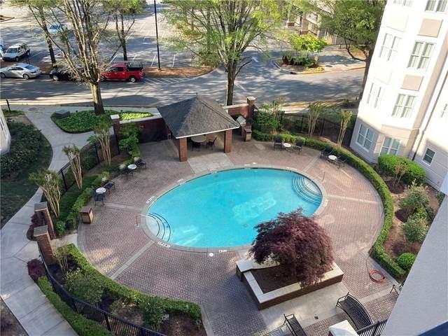 11 Perimeter Center E #1018, Atlanta, GA 30346 (MLS #6935529) :: Kennesaw Life Real Estate