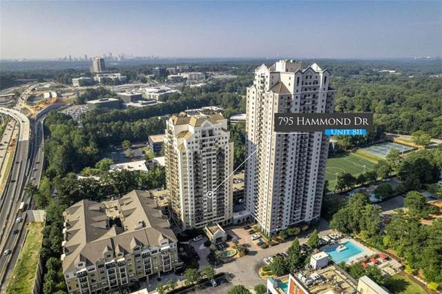 795 Hammond #811, Sandy Springs, GA 30328 (MLS #6936190) :: Kennesaw Life Real Estate