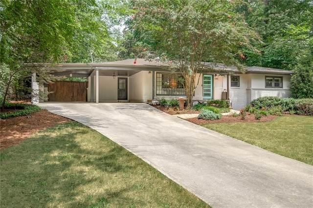 1340 Victor Road NE, Brookhaven, GA 30324 (MLS #6937169) :: Tonda Booker Real Estate Sales
