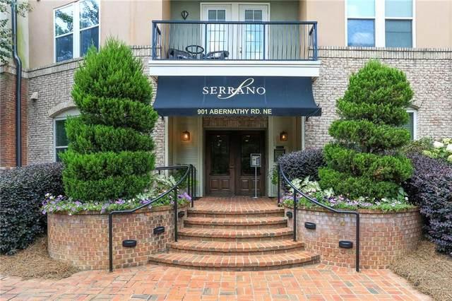 901 Abernathy Road #5240, Atlanta, GA 30328 (MLS #6937306) :: Tonda Booker Real Estate Sales