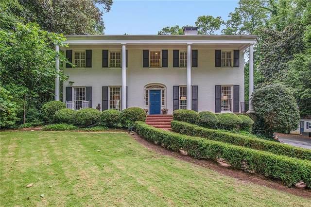 3609 Cloudland Drive NW, Atlanta, GA 30327 (MLS #6938243) :: Atlanta Communities Real Estate Brokerage