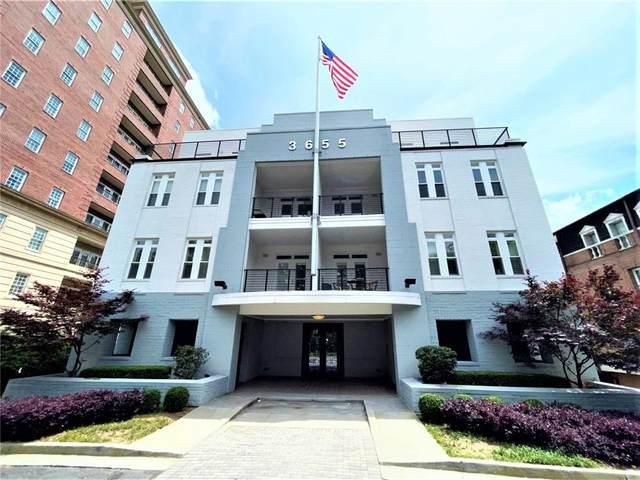 3655 Peachtree Road NE #201, Atlanta, GA 30319 (MLS #6938266) :: Tonda Booker Real Estate Sales
